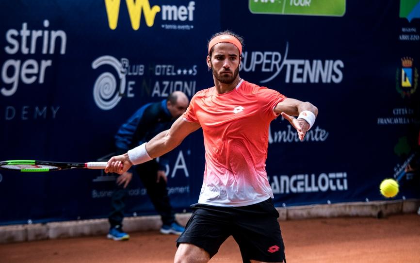 Internazionali di tennis: a Francavilla volano Zeppieri, Moroni e Pellegrino
