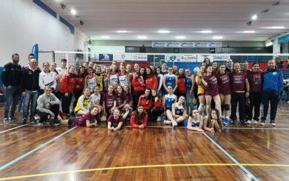 Pallavolo, u16 femminile: grande spettacolo ieri al Valle Anzuca