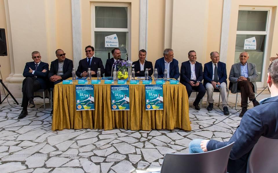 Presentati gli Internazionali di tennis a Francavilla