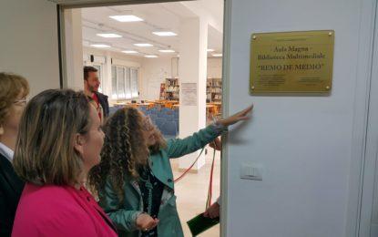 Aula Magna e Bibilioteca Multimediale per la scuola Masci di Francavilla