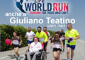 Anche a Giuliano Teatino si corre per la Wings for Life World Run