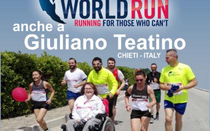 Anche a Giuliano Teatino si corre per la Wings for Life World Run