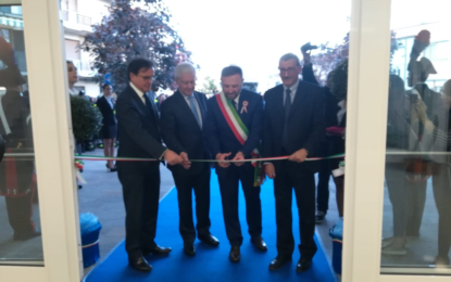 Inaugurato il nuovo municipio di Miglianico