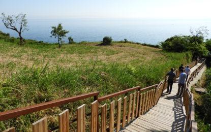 Nuova scalinata di accesso ai Ripari di Giobbe: Polidori critica l'opera