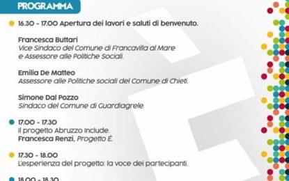 Abruzzo Include: il comune di Francavila capofila del progetto