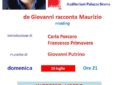 All'auditorium Sirena De Giovanni racconta Maurizio