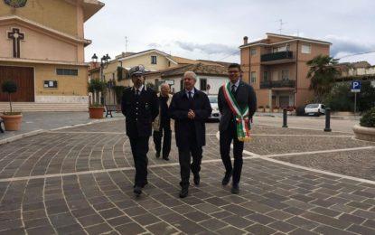 Il Prefetto Barbato in visita a Palazzo Valignani