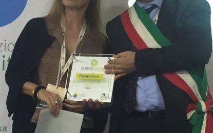 Il premio Cresco Award al comune di Tollo