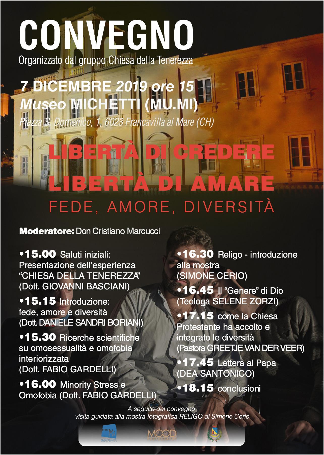 Simone Cerio protagonista al museo Michetti con 'Religo'