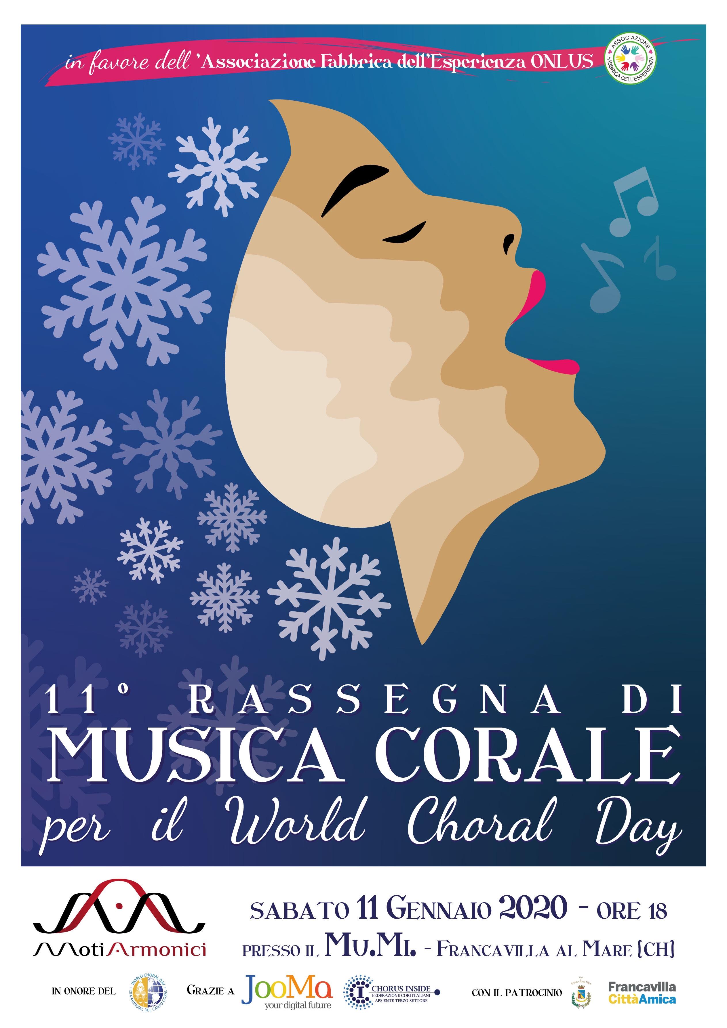 Oggi al Mumi il World Choral Day