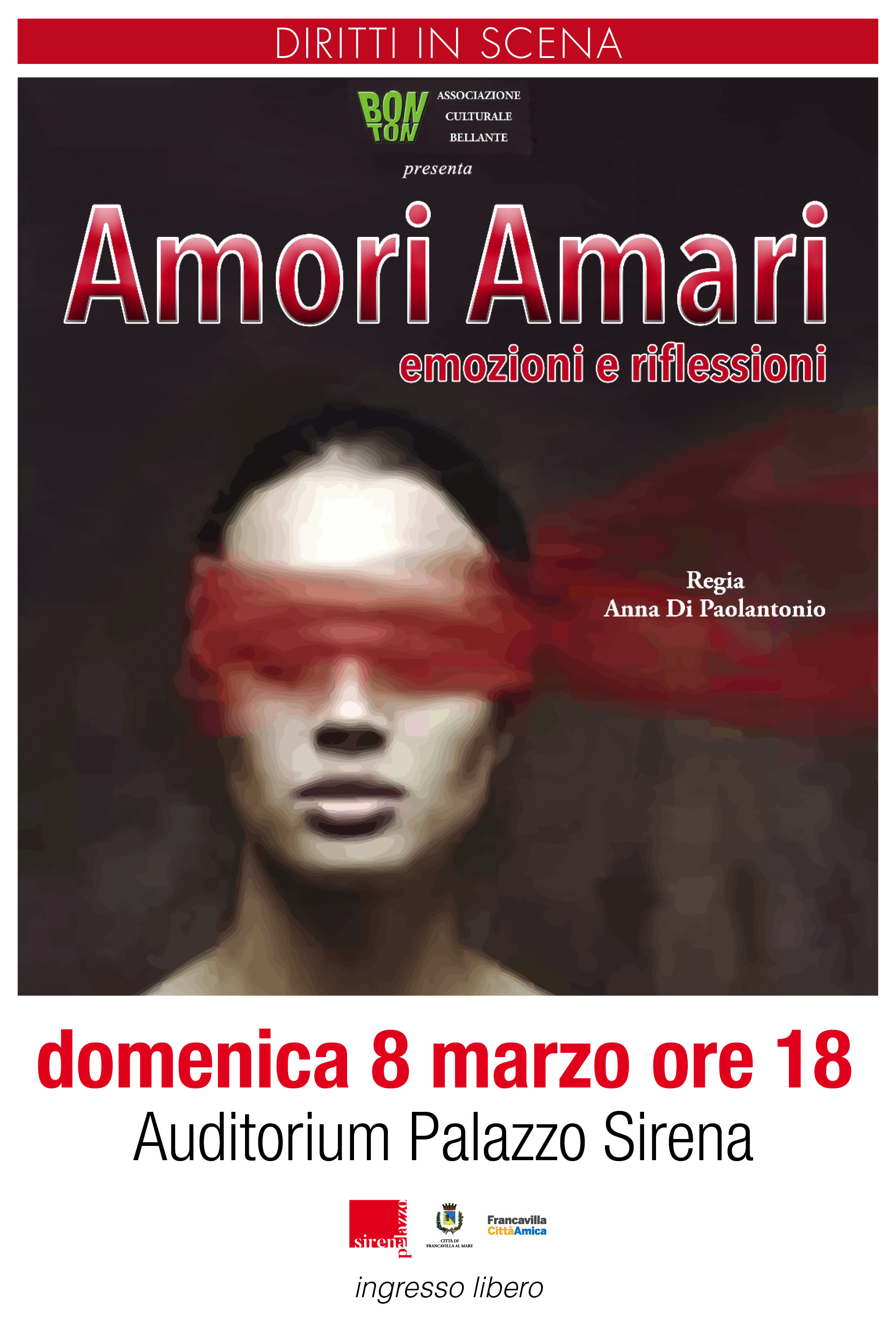 """L'8 marzo torna """"Diritti in Scena"""" alla Sirena"""