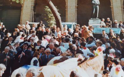 Tempo di ricordi: la sfilata dei cavalli a Francavilla