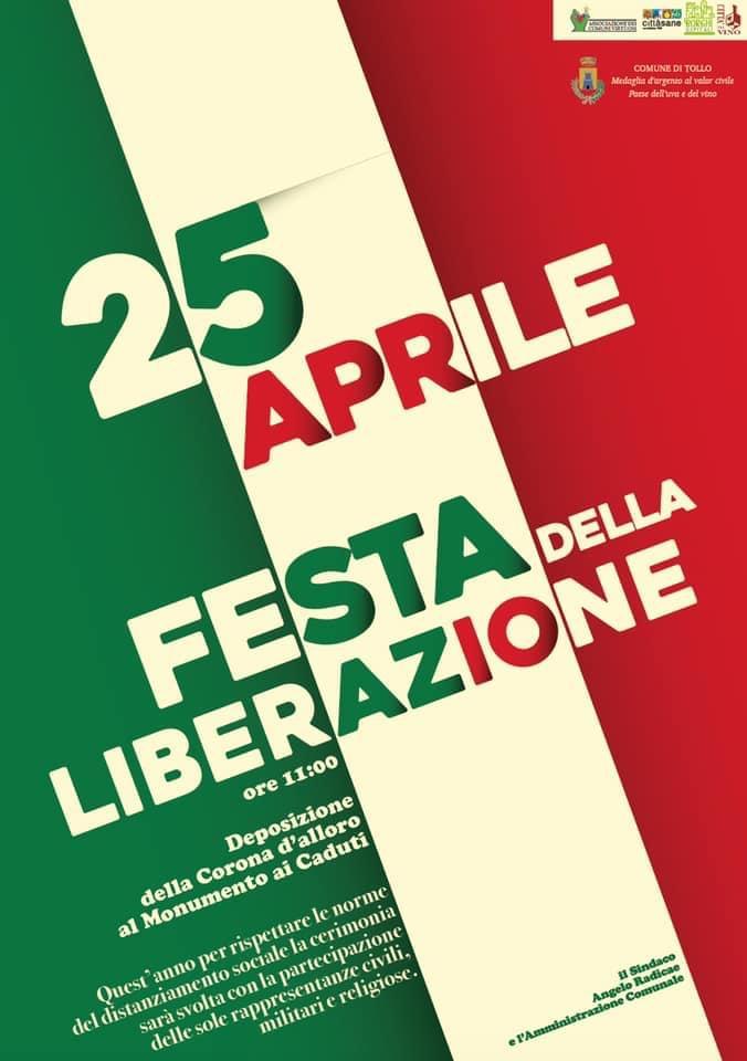 Tollo: le celebrazioni per il 25 aprile