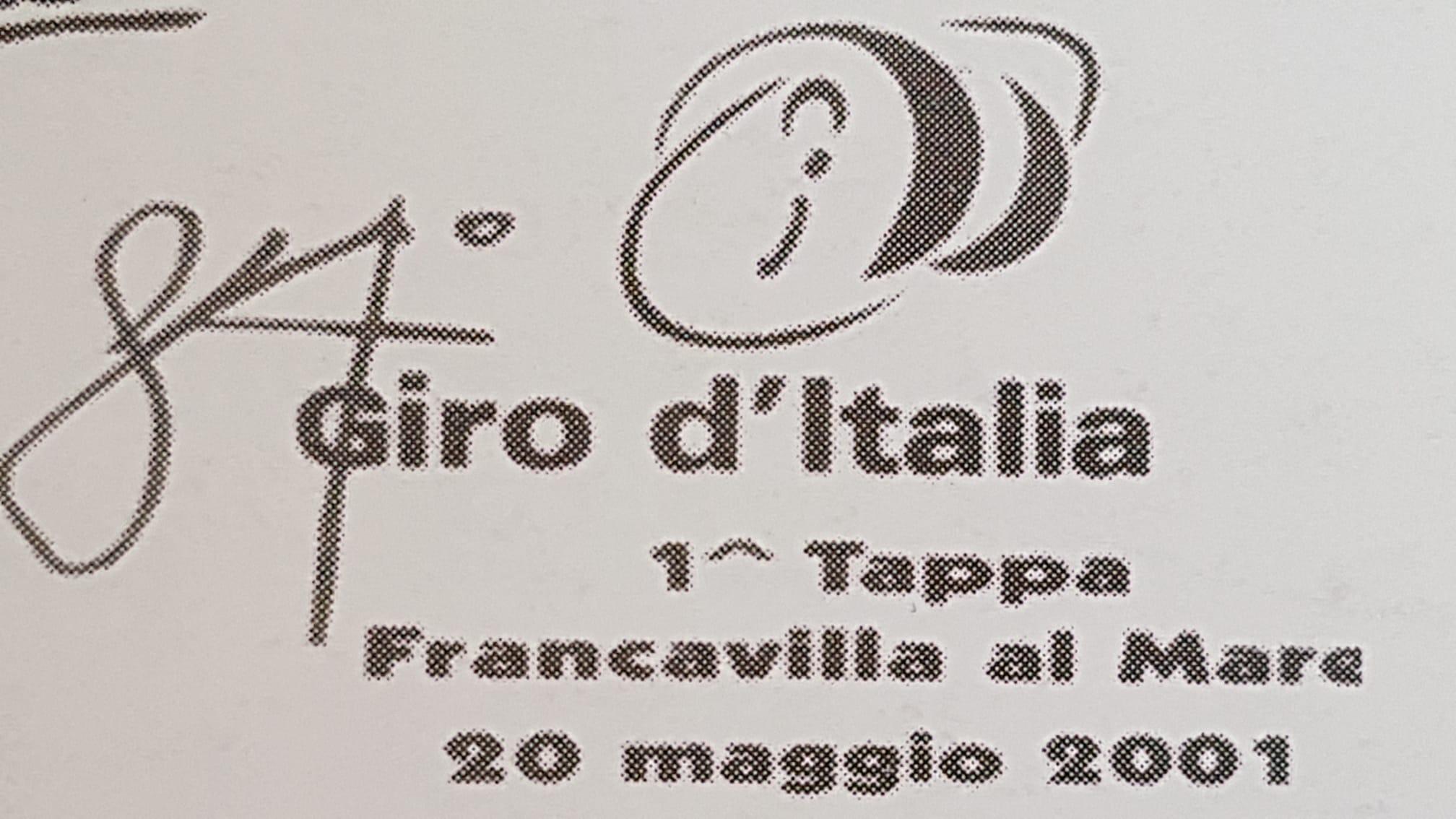 Tempo di ricordi: il Giro d'Italia a Francavilla
