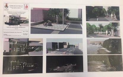 Tollo: la Giunta approva progetto per parcheggio in via Felizzi