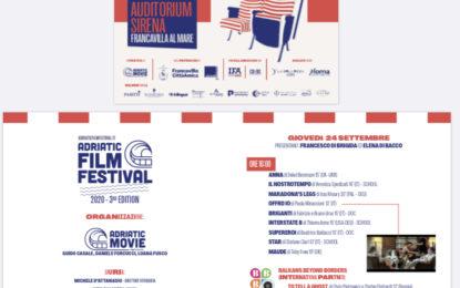 Torna a Francavilla l'Adriatic Film Festival