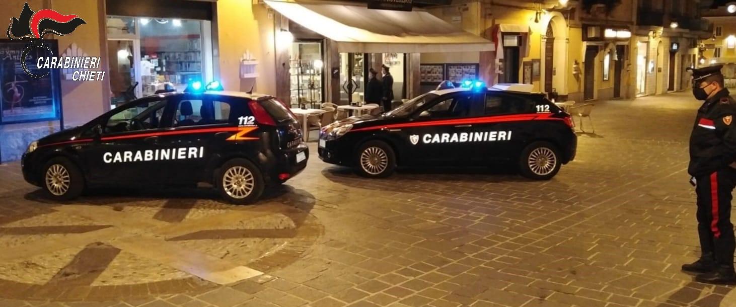 I Carabinieri di Ortona rafforzano i controlli nei locali
