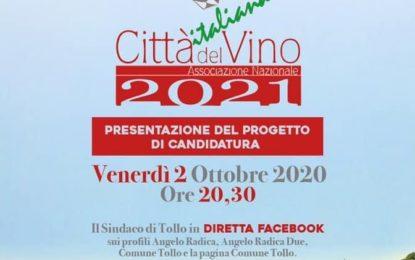 """Tollo si candida a """"Città italiana del vino"""""""