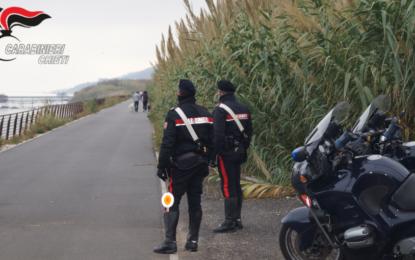 Controlli sulla ciclopedonale: in azione la squadra Radiomobile dei Carabinieri