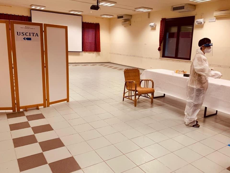 Test rapidi: iniziato ieri lo screening a Canosa