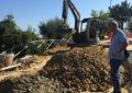 Riprendono i lavori di consolidamento della frana a Villanesi