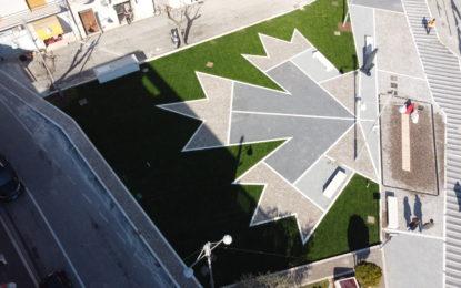 Apre la nuova piazza degli Eroi Canadesi