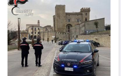 Party all'aperto: sanzionati dai Carabinieri