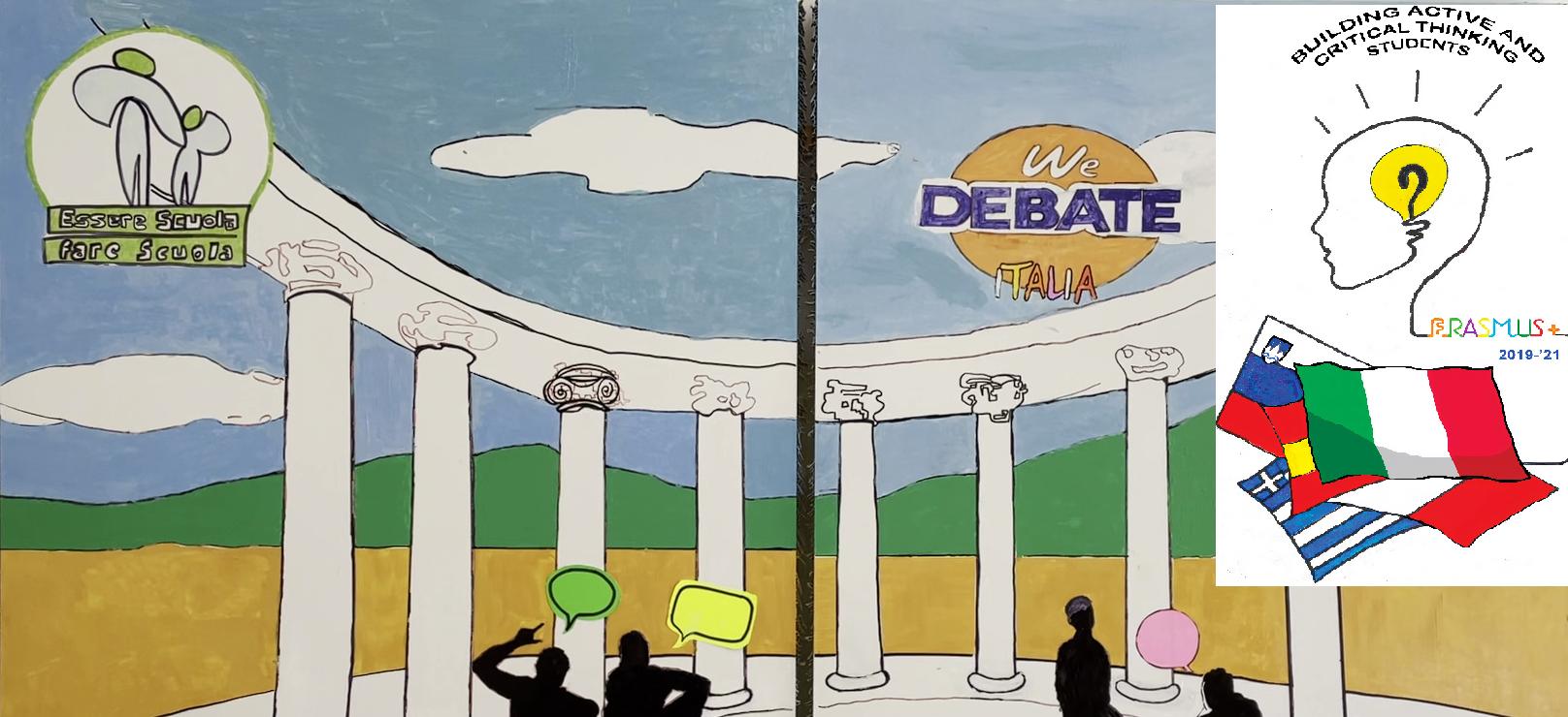 Erasmus plus, gli studenti del Buonarroti impegnati tra dibattiti e confronti