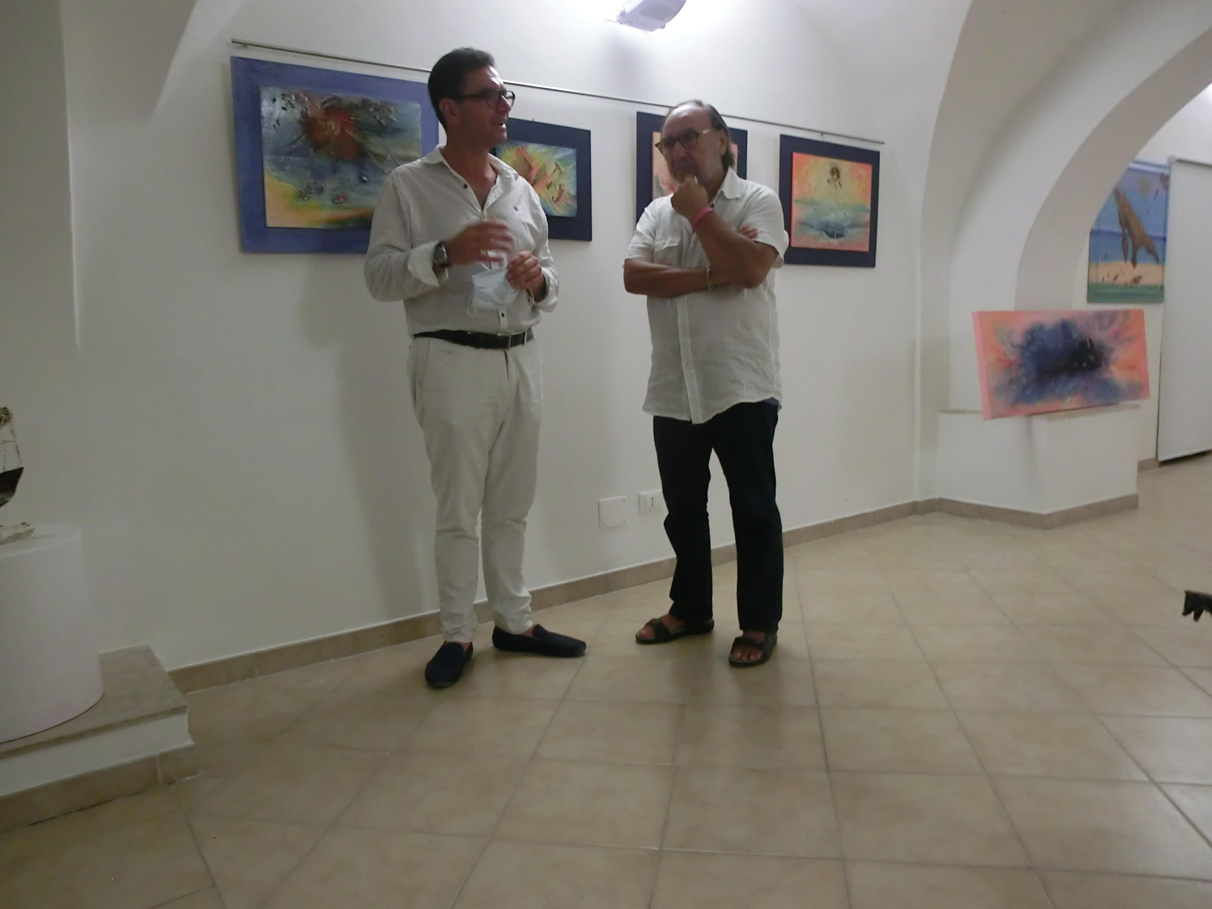 A Villa Caldari inaugurata la mostra di Mario Di Paolo