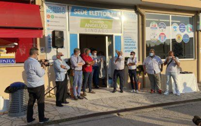 Inaugurata la sede elettorale del candidato Roberto Angelucci
