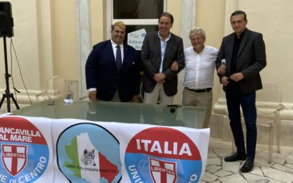 Elezioni: l'Udc al fianco di Roberto Angelucci