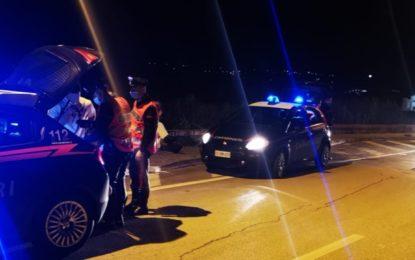 Movida notturna: diversi giovani sanzionati dai Carabinieri