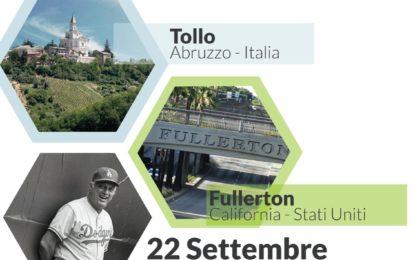 Oggi in diretta il gemellaggio tra Tollo e Fullerton