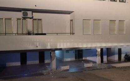 Cedono pilastri di una palazzina Ater: sgomberati gli inquilini
